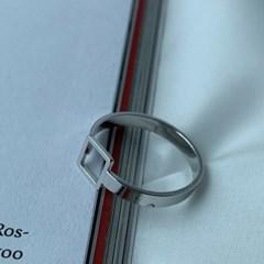 남자 검지 반지 square frame ring_(1200063)