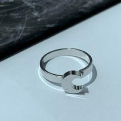 남자 달 펜던트 패션 반지 crescent ring_(1200065)
