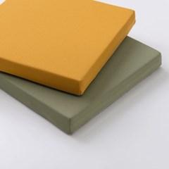 그리너리 메모리폼 사각 방석(5cm)