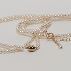 BABY PEARL NECKLACE(CHOKER)