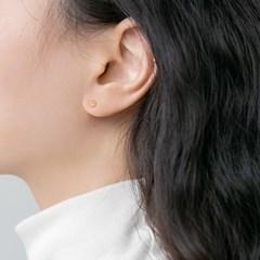 925 silver mini flower earrings (925실버)