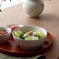 골드크롬 모던엣지 면기/국수그릇 (2color)