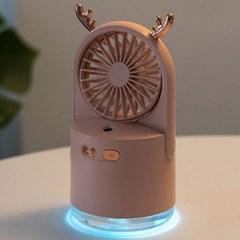 저소음 LED USB 미니 사무실 책상 탁상용 선풍기