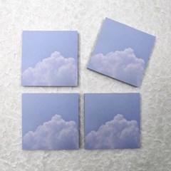 [제미포티] 감성 구름 떡메모지 memo pad_cotton