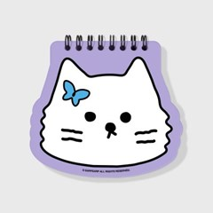 Awesome cat-purple(스프링노트)(S)_(1635834)