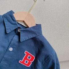 돌핀웨일 대문자B레터셔츠(70~130cm)