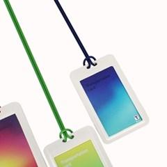 [디오플러스] 친환경 종이 케이스,에코 카드 케이스,사원증 목걸이