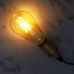 LED 에디슨전구 COB EP ST64 3W_(1921844)