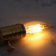 LED 에디슨전구 COB EP 촛대구C35 3W E26_(1921838)