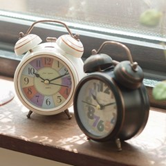 Vintage ALARM CLOCK 2color 배터리 미포함