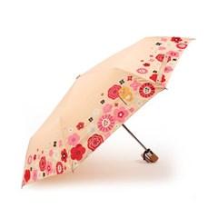 카카오프렌즈 블로썸 완전 자동우산 라이언