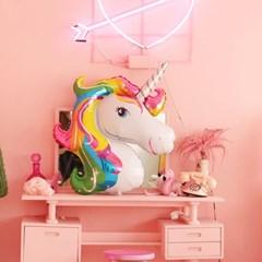 쓱싹파티 대형유니콘 은박풍선  생일파티용품
