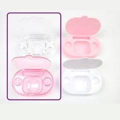 콘택트 렌즈 세척접시/렌즈케이스