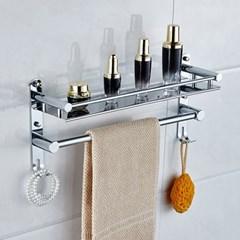 홈드림 스선반형 수건걸이 욕실선반/스텐 화장실선반