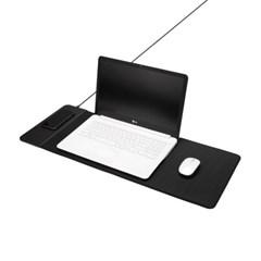 고속 무선충전 장패드 키보드 마우스패드 MP3499WL_(1198373)