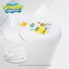 레토 스폰지밥 2 in 1 무소음 유아 겸용 변기커버 SBB-C01