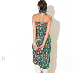 [Sarong] Forest - Sunset Green