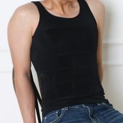NPF 남성 남자 보정 나시 속옷 [이너핏 뱃살 체형 상체 똥배 압박]