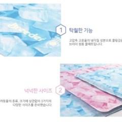 브리더 쿨매트 (핑크) M