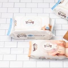 붕어빵 휴대용 물티슈 15매 20팩