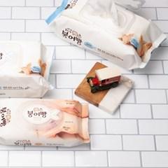 붕어빵 휴대용 물티슈 15매 5팩