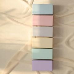 트렌디한 디자인 감성 종이벽돌 블럭 40pcs