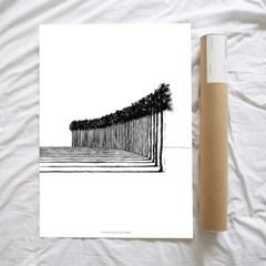 Trees 50x70cm 아트포스터