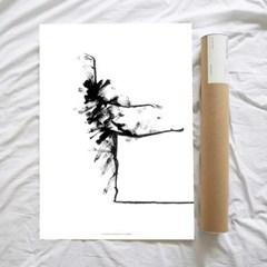 Dancer1 50x70cm 아트포스터