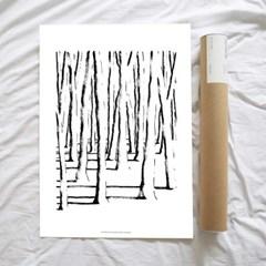 Forest 50x70cm 아트포스터