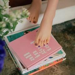 [젤팡] 별빛 바이올렛 페디 (유광)