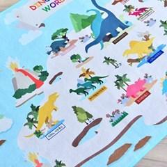 공룡세계 DTP 키즈러그 150x180