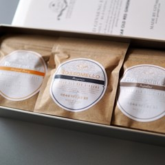 6년근 홍삼절편 로쏘멜로 오리지널 흑임자 인절미 선물세트
