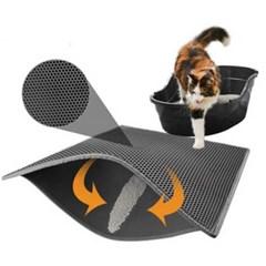 청소가 쉬운 사막화방지 고양이 화장실 모래매트