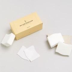 셀프케어 코튼패드 1/2 저자극 화장솜 세트 [3box * 60매입]
