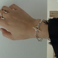 [센수] 몬테 SILVER 925 두줄 체인 팔찌