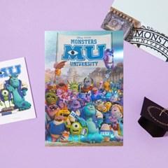 [디즈니] 홀로그램 엽서_몬스터 대학교