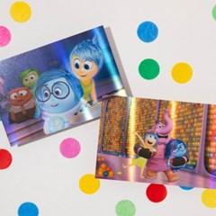 [디즈니] 홀로그램 엽서_인사이드 아웃