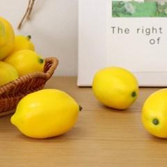 레몬 과일 모형 (1P)