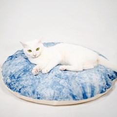 레미투미 천연쪽염색 강아지 고양이 메밀 방석