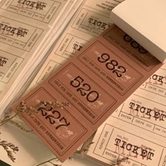 냥냥빔 vintage ticket bundle