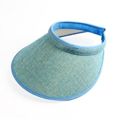 모노 와이드 썬캡(블루) (여성용)