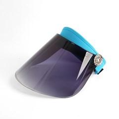 썬스크린 UV차단 썬캡(블루)