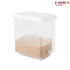 한샘 무빙 핸디 계량 쌀통 11kg