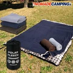 노마드 폴라폴리스 슬리핑백 N-7252 캠핑 담요 침낭