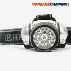 노마드 헤드랜턴 21LED N-5360(건전지별도)/캠핑용품/후레쉬/오토/낚