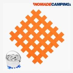 노마드 실리콘 냄비받침 (샵오렌지)/N-5816/캠핑용품/받침대/식기/야