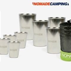 노마드 캠핑컵세트 8p N-6114/코펠/식기세트/휴대용식기