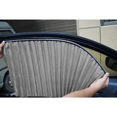 자석 카커튼 차량용 햇빛가리개 4p세트 / 자동차 커튼
