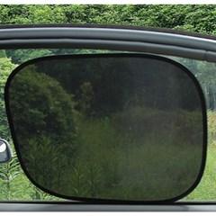 PVC필름 간편흡착 차량용 햇빛가리개 2p세트(44x36cm)