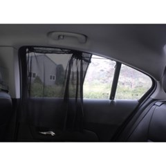 차량용 흡착식 햇빛가리개 2p /자동차커튼